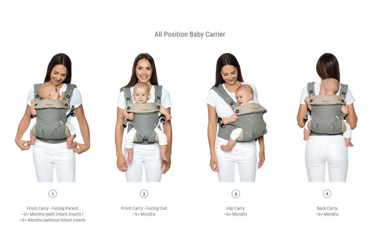 Ergobaby Collection 360 test