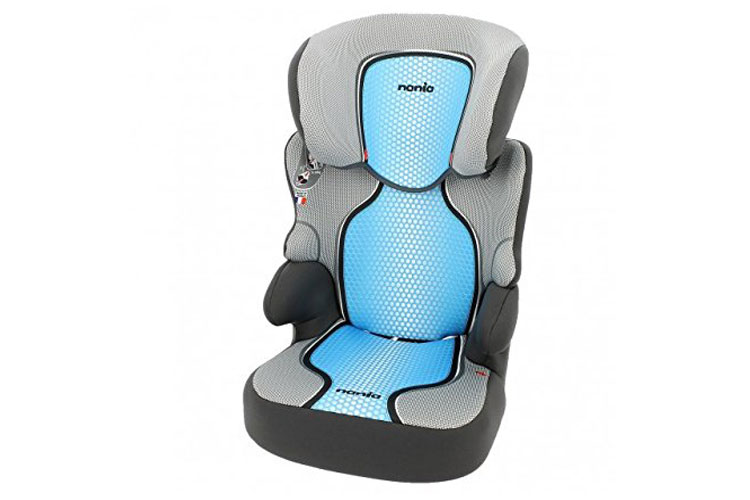 Mycarsit bleu siège auto