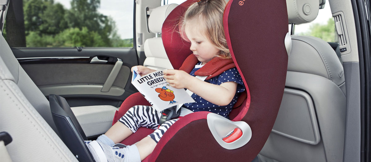 test siège auto pivotant