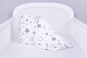 Amilian protège sommier tour de lit pour bébé