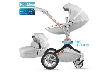 Hot Mom F023 poussette trio