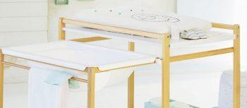 meilleure table à langer avec baignoire