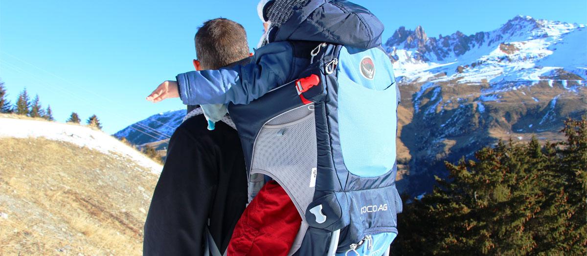 comparatif porte bébé pour randonnée