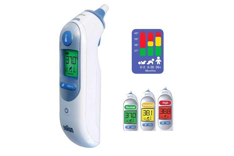 Braun ThermoScan7 test