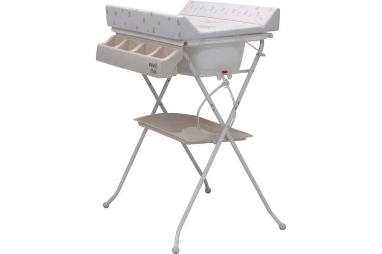 IB-Style My little Farm beige table à langer avec baignoire