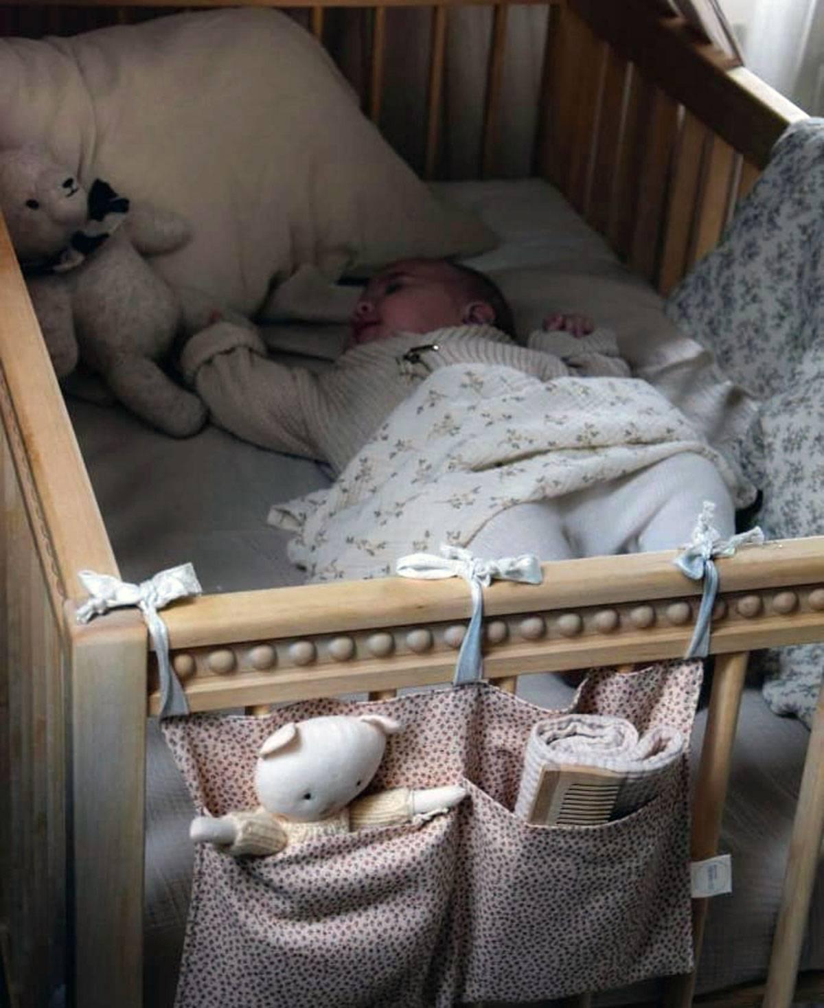 chambre de bébé vintage
