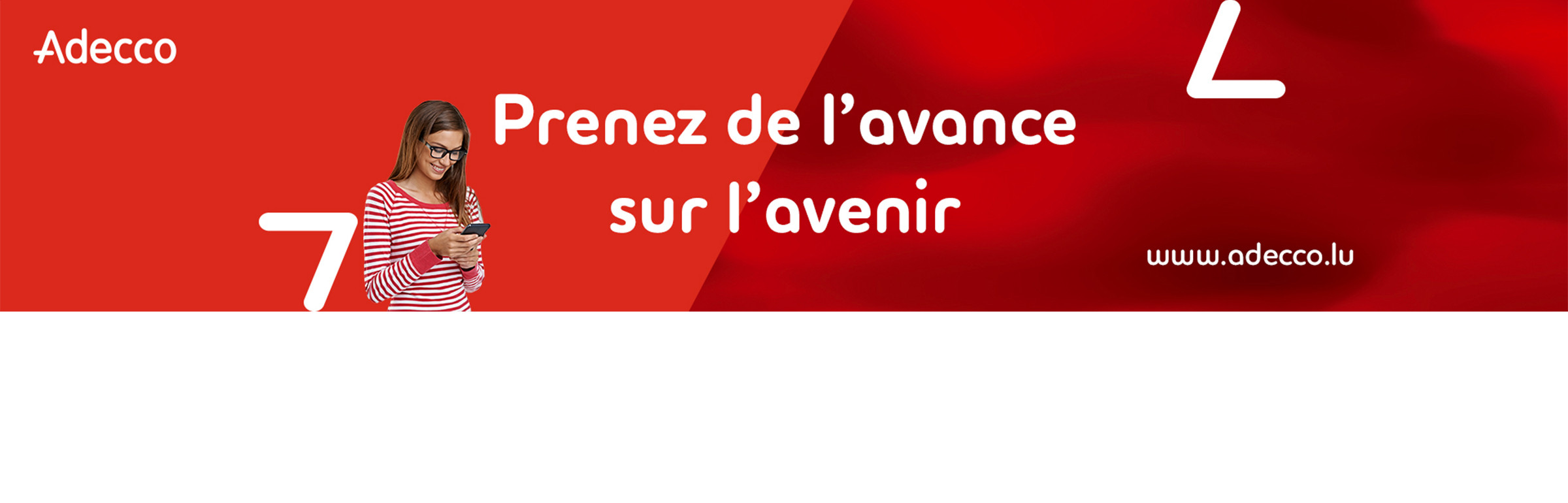 Banner Adecco