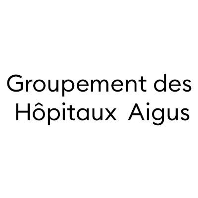 Logo «Groupement des Hôpitaux Aigus » asbl
