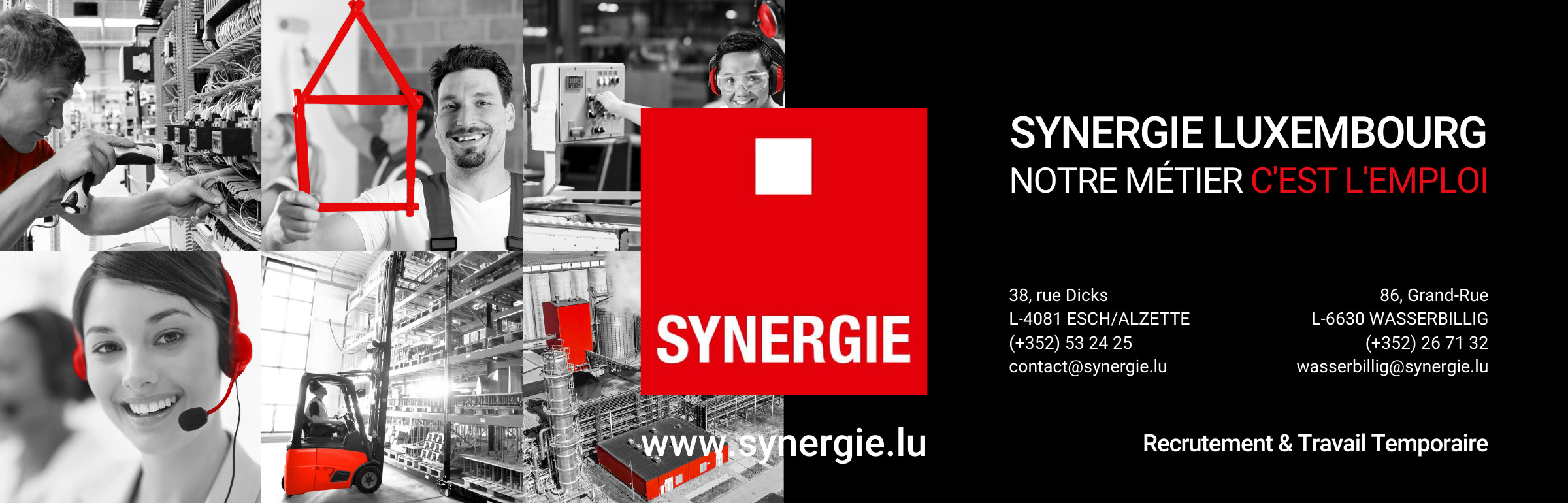 Banner SYNERGIE
