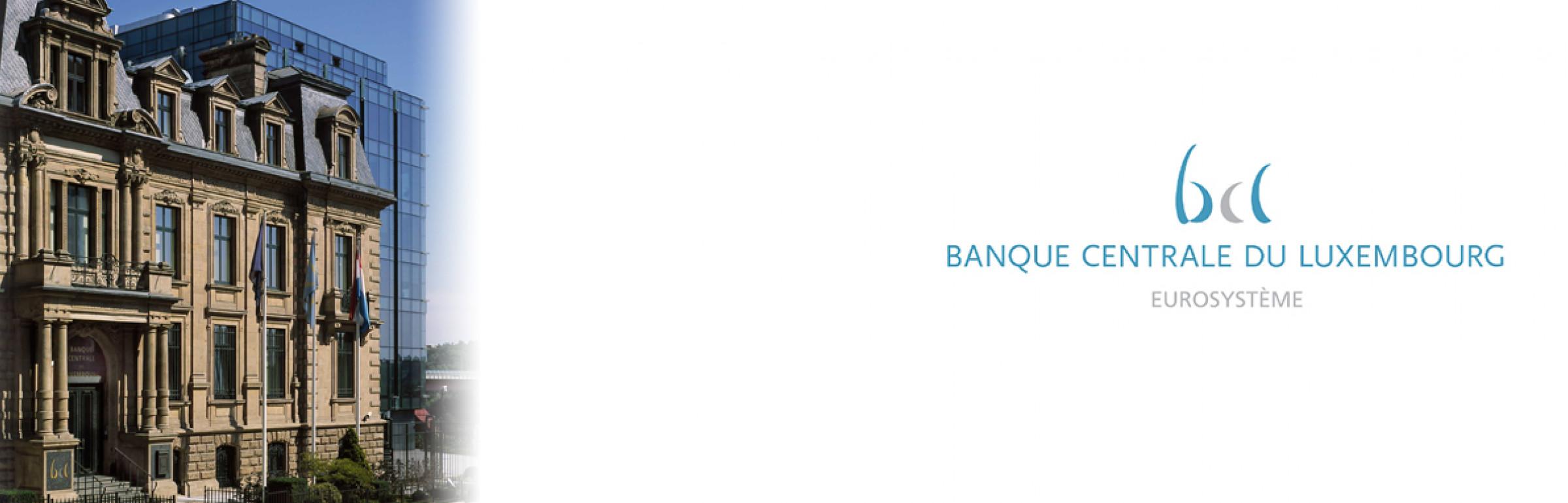 Banner Banque Centrale du Luxembourg