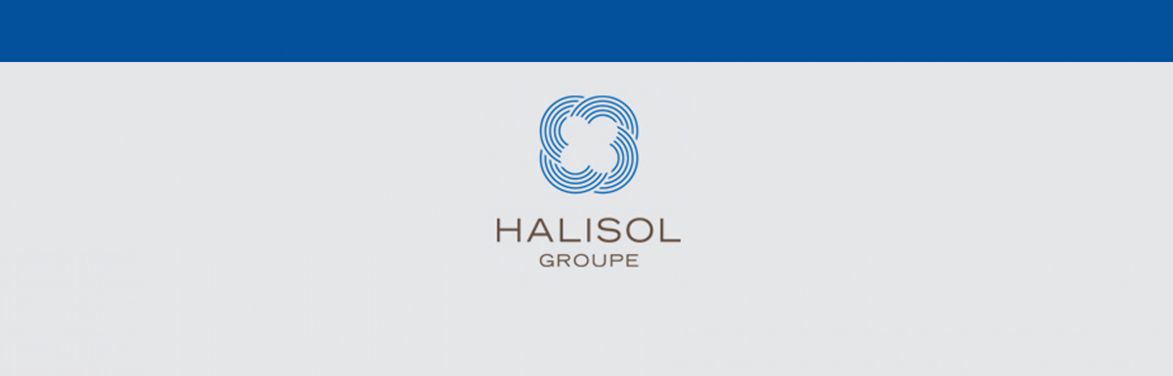 Banner Halisol Groupe