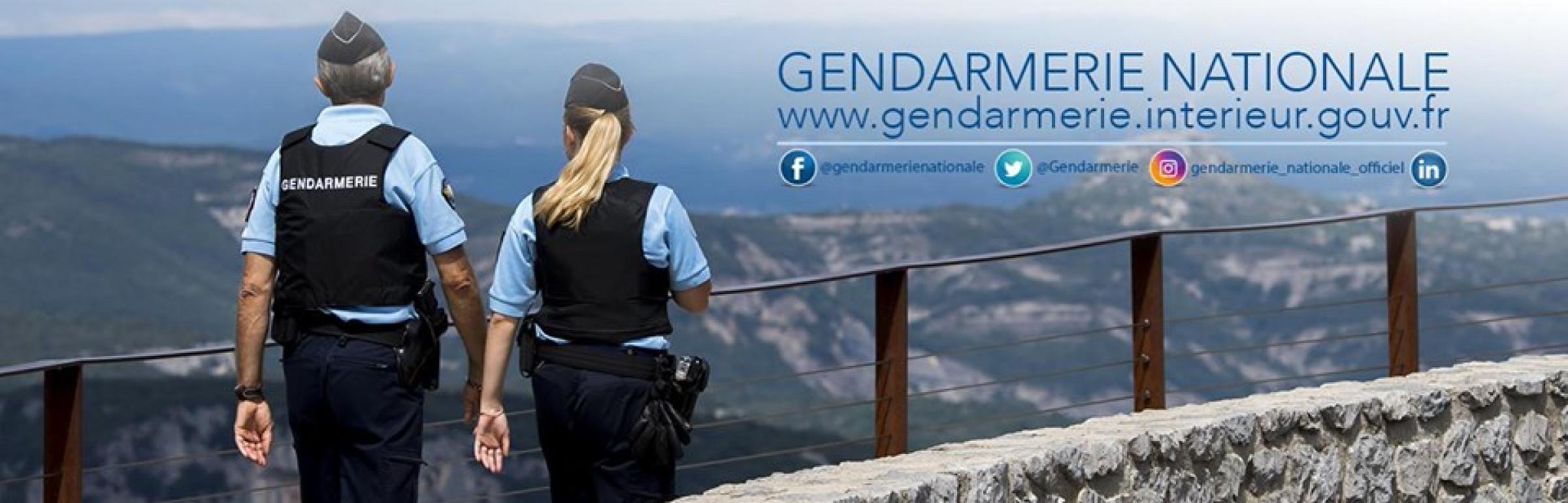 Banner Gendarmerie Nationale (cir Strasbourg)