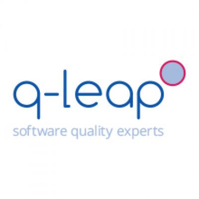 Q-leap logo