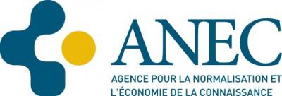 Agence pour la Normalisation et l'Economie de la Connaissance G.I.E logo