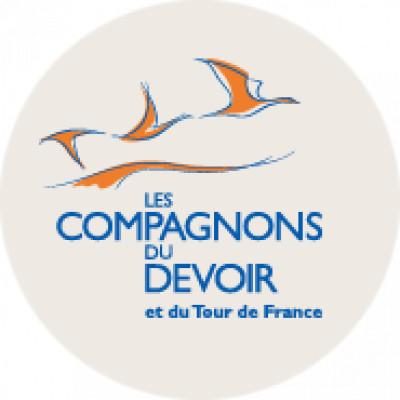 Les Compagnons du Devoir et du Tour de France logo