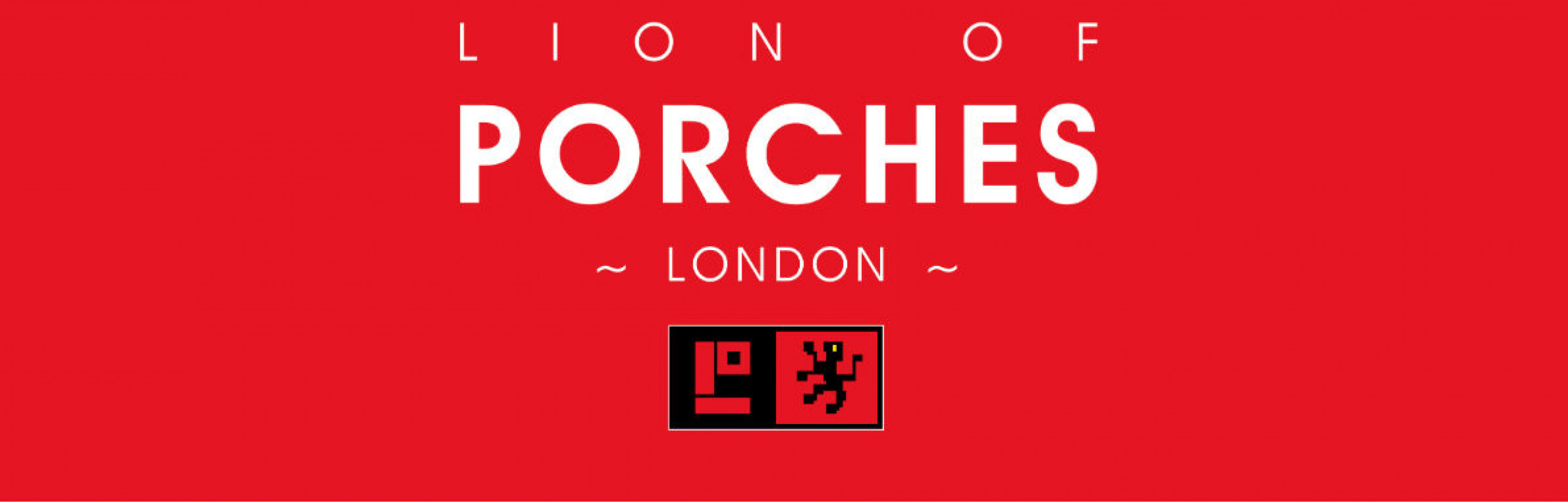 Banner LION OF PORCHES