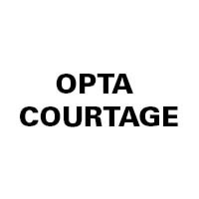 OPTA COURTAGE logo