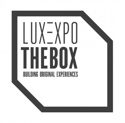 Luxexpo The Box logo