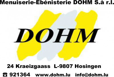 MENUISERIE DOHM logo