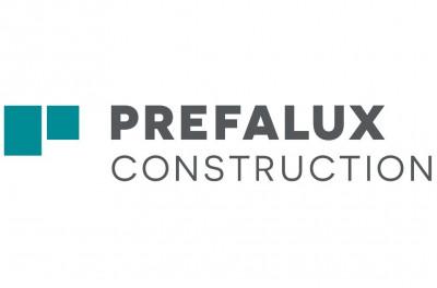 Logo Prefalux Construction