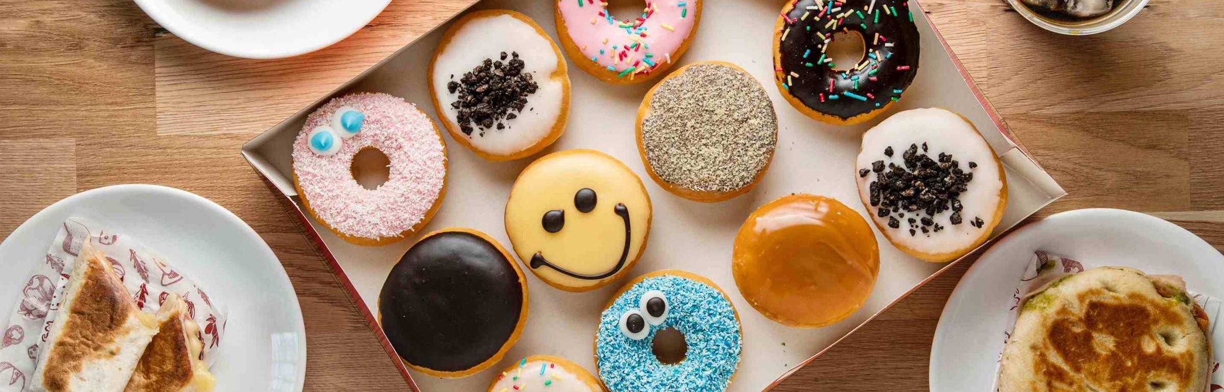 Banner Donuts Capellen