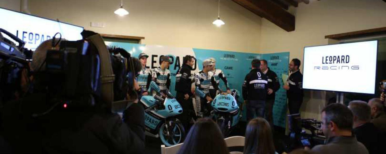 """Il Team Leopard si presenta """"in casa"""". Moto2 - Moto3"""