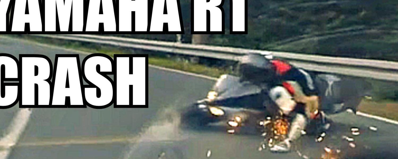 Una R1 distrutta!