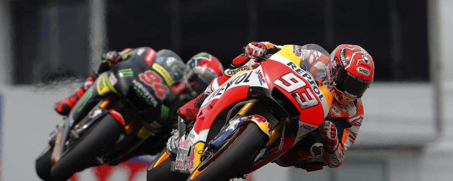 MOTOGP GERMANY: MARQUEZ DOMINES ON THE FAVORITE DRESS