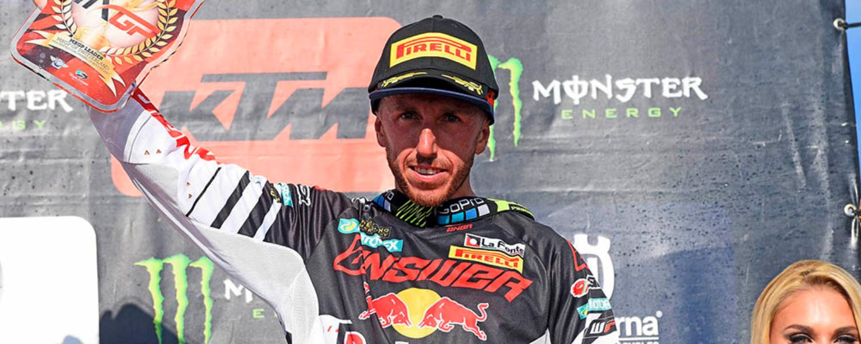MXGP Switzerland: Cairoli to podium!
