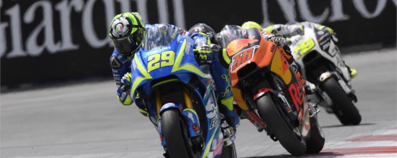 MotoGP Austria: Suzuki suffers but improves