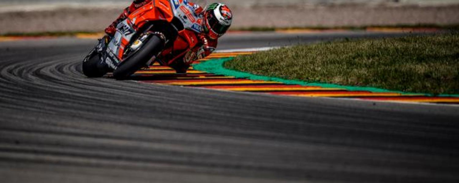 Ducati at the Sachsenring