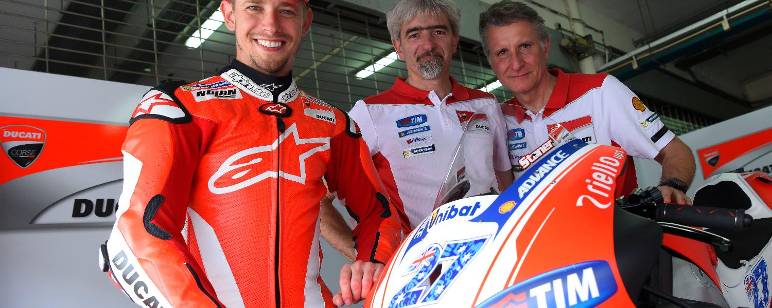 The collaboration between Casey Stoner and Ducati ends