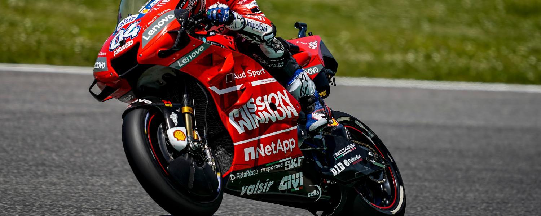 Gran Premio d'Italia: Dovizioso fatica nel giro singolo ma prevede una grande gara