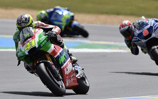 LE MANS: GOOD APRILIA WITH LOWES CONCERNING THE FIRST POINTS