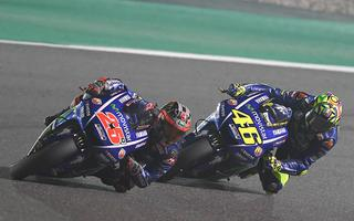 MOTOGP: THE SKY IS BLUE ABOVE THE QATAR WITH VINALES FIRST AND THIRD RED