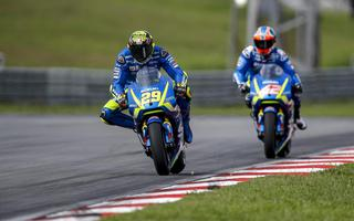 MOTOGP: IANNONE AND RINS FEELING OK AND GROSS IMPROVEMENTS FOR GSX-RR