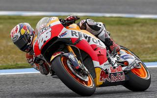 Seventh place for Pedrosa