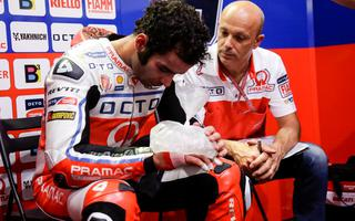 MotoGp: Petrucci persecuted by bad luck