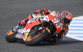 First row for Marquez in Jerez