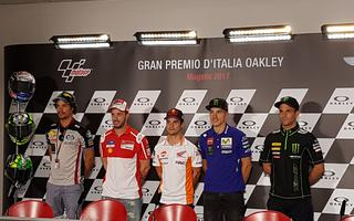 TO MUGELLO DOES NOT GET AND TO GO TO PODI NEEDS PUSH, WORD OF ZARCO !!!