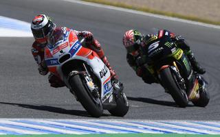 SPANISHGP: IS A PARTY FOR DUCATI: LORENZO FIRST MOTOGP PODIUM