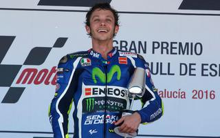 VALENTINO ROSSI 1st in Jerez comments his victory