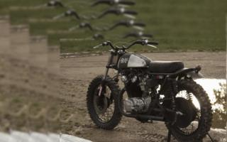 "HONDA CB 450 ""RUSTY QUATTROEMEZZO"" by ANVIL MOTORCYCLE: URBAN JUNGLE MOTORCYCLE"