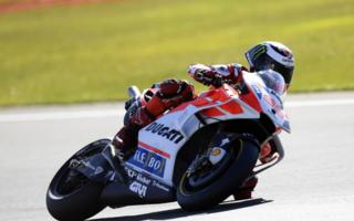 Ducati: positive tests in Valencia