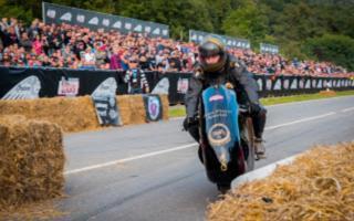 Ducati special for podium