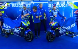 The new Suzuki by Iannone and RIns