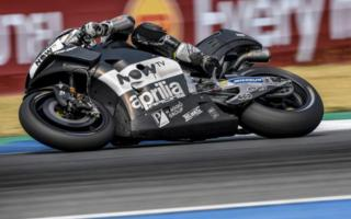 Aprilia concludes the three days of Thai tests