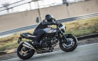 The new Suzuki SV650X-Ter makes its debut