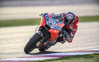 Ducati test in Qatar day 2