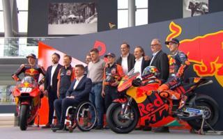 KTM MotoGP presentation